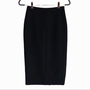 Diane Von Furstenberg black Samara pencil skirt. 2